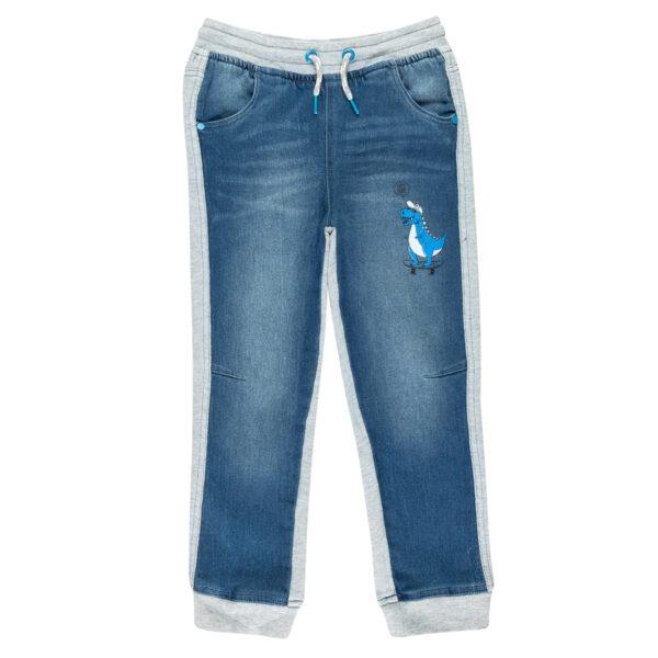 Fantovske hlače, modra