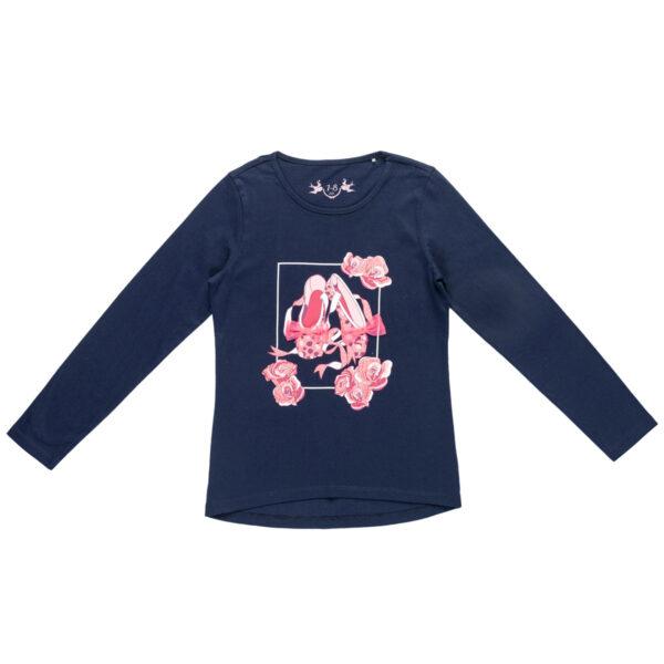Majica za djevojčice, tamno plava