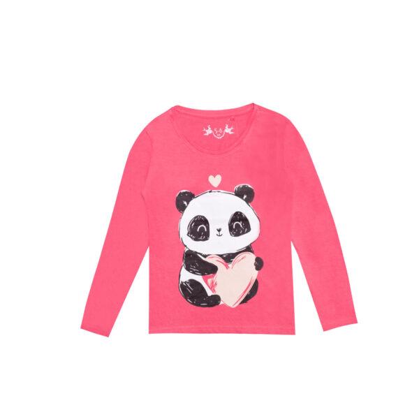 Majica - curice, roza