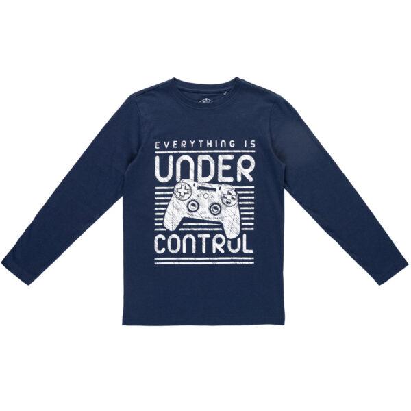 Majica za dječake, tamno plava