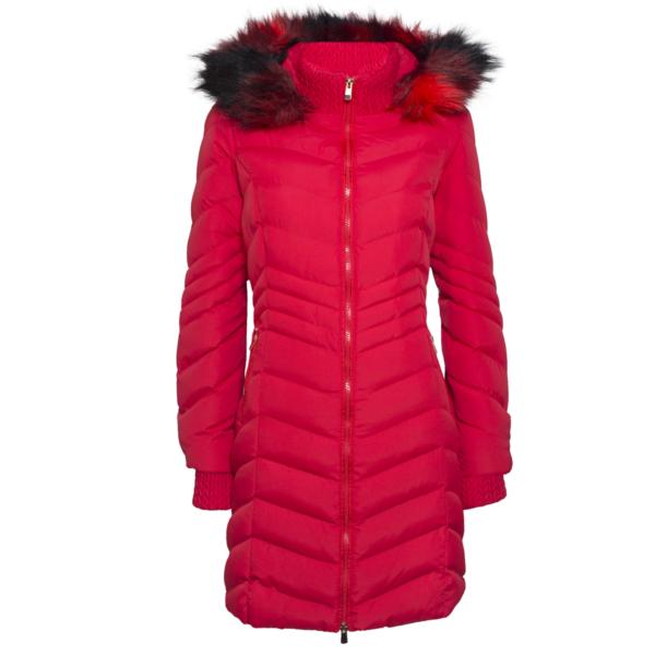 Ženska jakna, crvena