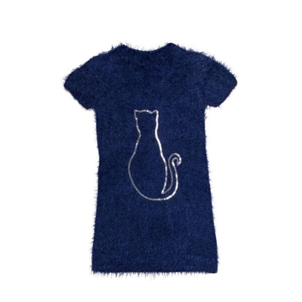 Haljina - curice, tamno plava