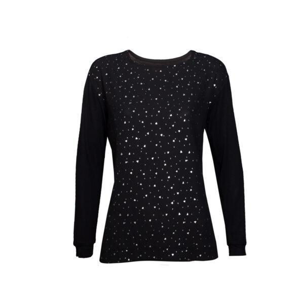 Ženska majica, crna