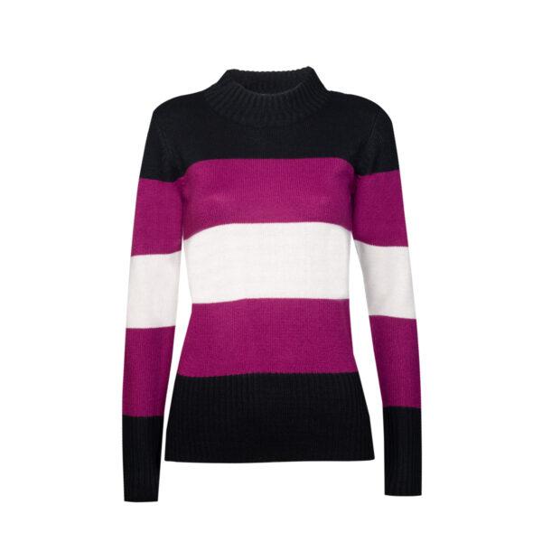 Ženski pulover, crna