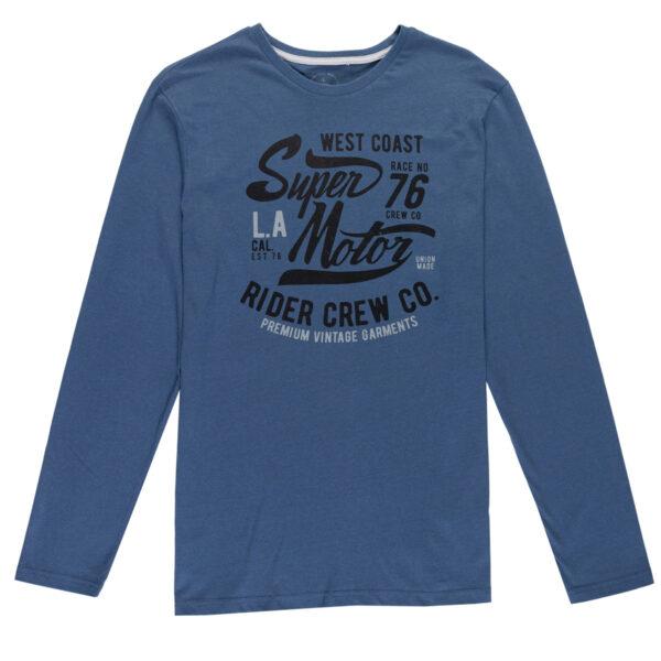 Muška majica, plava