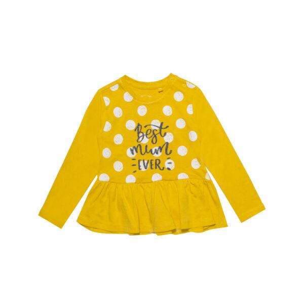 Baby tunika, tamno žuta