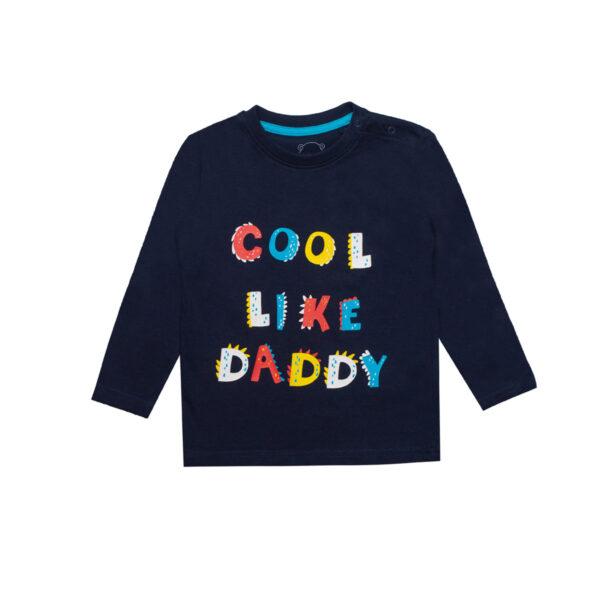 Baby majica, tamno plava