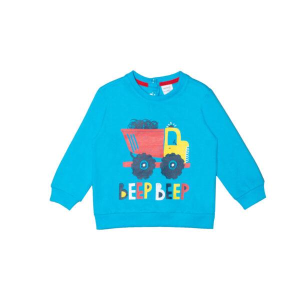 Baby pulover, svijetlo plava