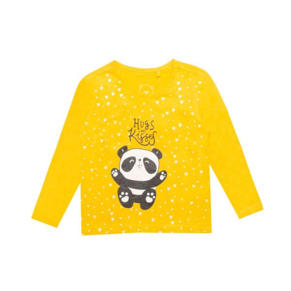 Baby majica, tamno žuta
