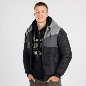 Muška jakna, crna