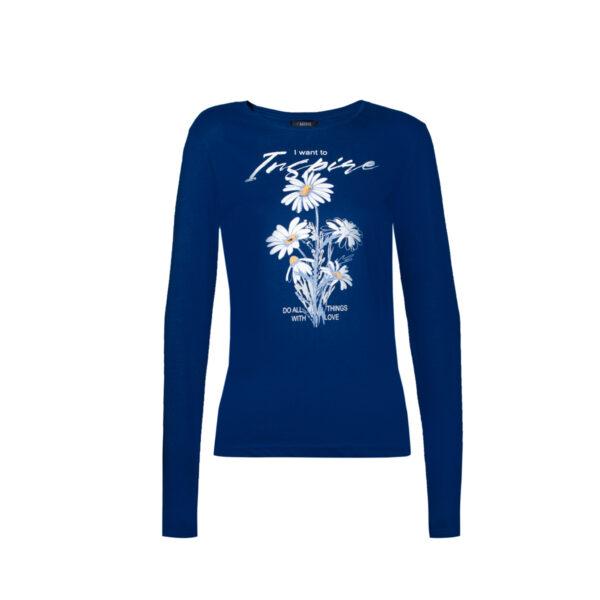 Ženska majica, tamno plava
